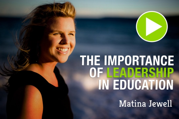 The importance of leadership in education