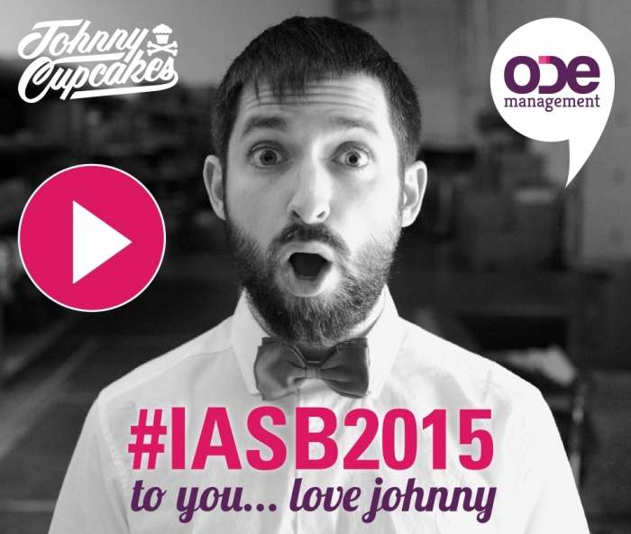 To You, Love Johnny... #IASB2015