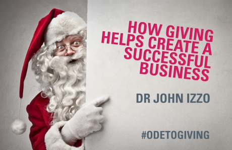 How giving helps create a successful business