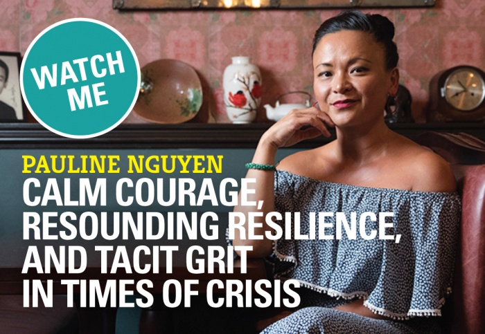 Calm Courage, Resounding Resilience, Tacit Grit in Times of Crisis