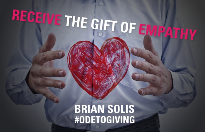 Receive the gift of empathy to innovate and digitally transform your organization