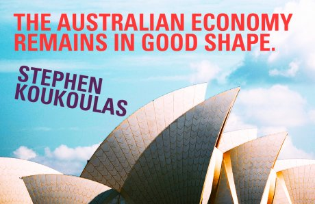 The Australian economy remains in good shape.