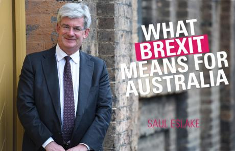 What Brexit Means for Australia