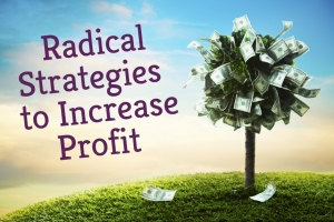 Radical Strategies To Increase Profit