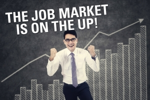 The Job Market Is On The Up!